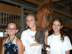 fun at summer horse camp for girls